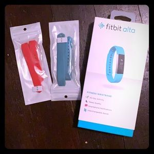 Fitbit Alta step recording w/2 extra bands